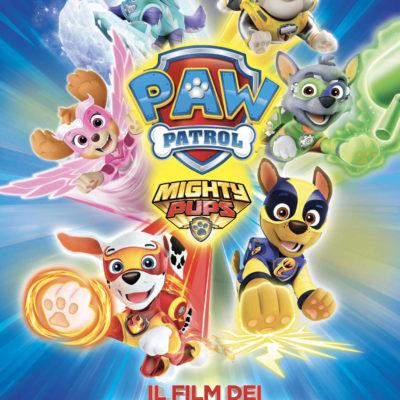 PAW PATROL MIGHTY PUPS – IL FILM DEI SUPER CUCCIOLI: in esclusiva al cinema con Adler
