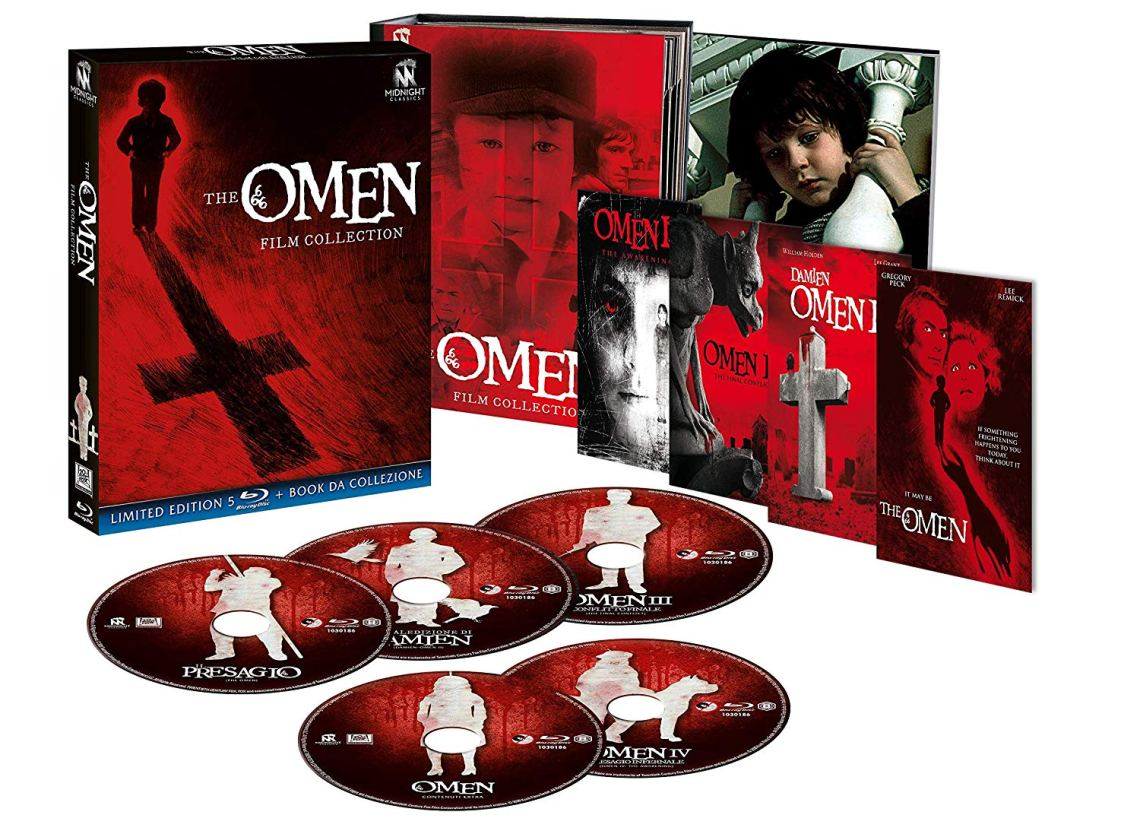 Midnight Classics presenta: The Omen – Film Collection
