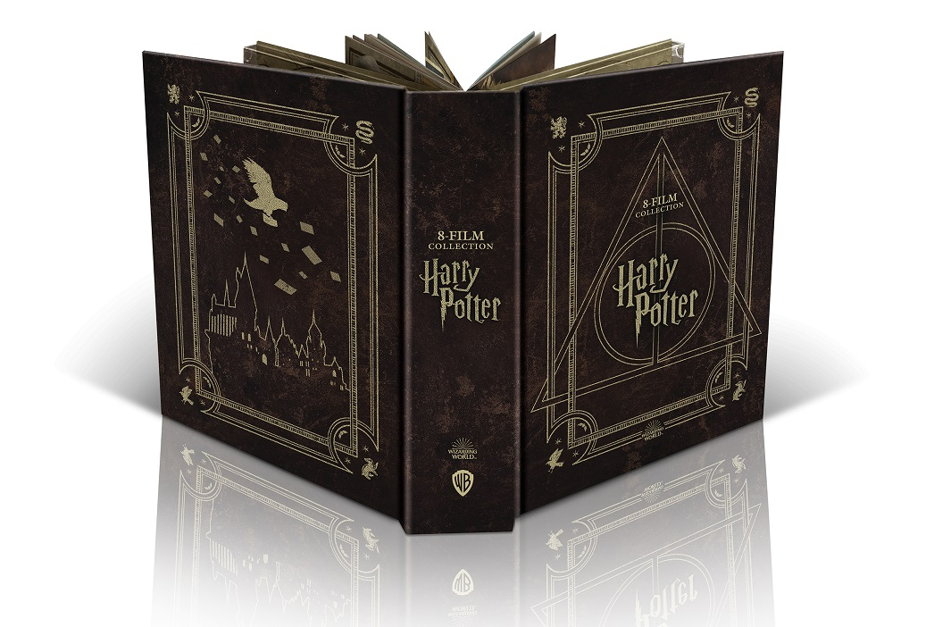 "Dal 26 marzo ""HARRY POTTER MAGICAL COLLECTION"" in DVD e Blu-Ray"