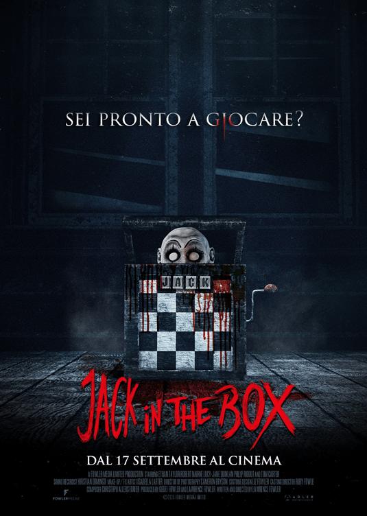 JACK IN THE BOX arriva in sala dal 17 settembre