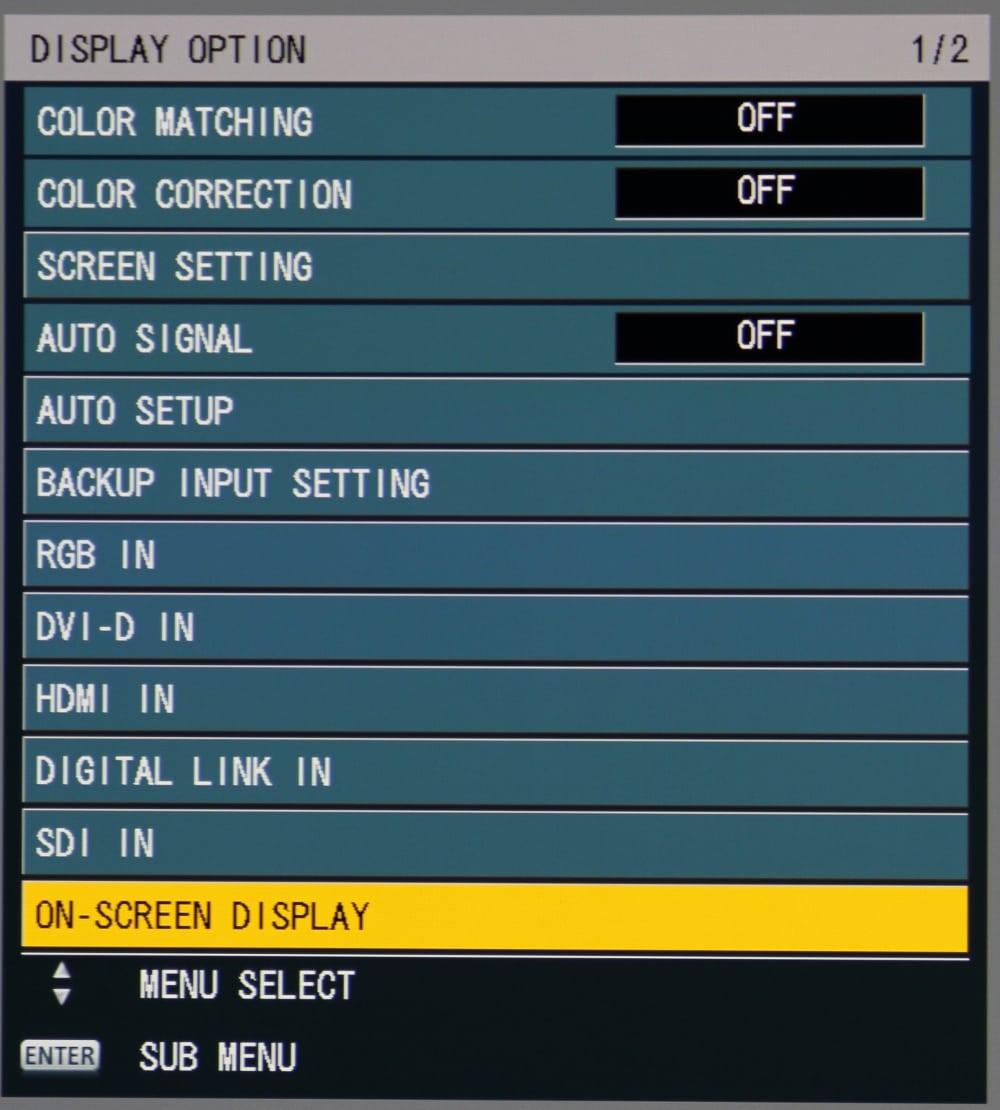 Panasonic Pt Rz670bu Projector Review Hardware Tour 2