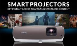 Умные проекторы упрощают доступ к потоковому контенту дома