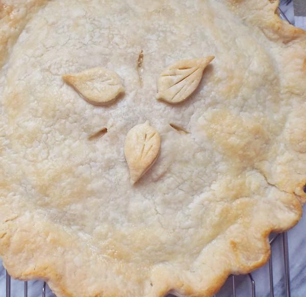 Chicken, Leek, and Tarragon Pie