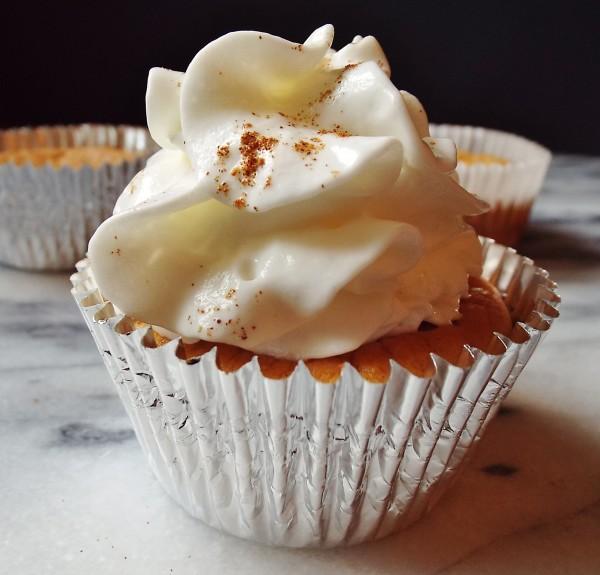 Mini Ginger Pumpkin Cheesecakes