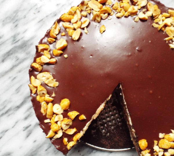 Double-Chocolate Peanut Butter Pie