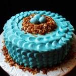 Coconut Easter Egg Cake