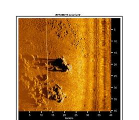 sonar image show possible search target bentprop crew palau