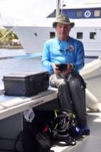 dive tech dan obrien in palau with bentprop