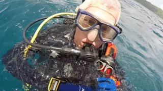 flip colmer, scuba diver, palau with bentprop.org
