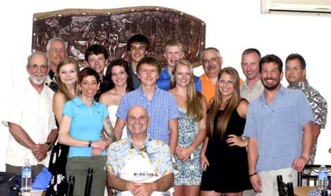 Stockbridge and BentProp team 2014 in palau