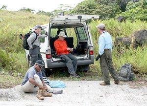 bentprop team prepares to hike into jungle palau mission 16