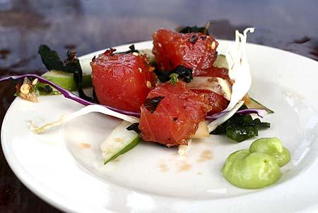 fresh sushi salad palau
