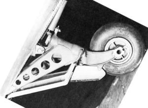 Stock photo of hellcat aircraft wheel
