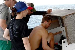 Monitoring the RUMUS sonar