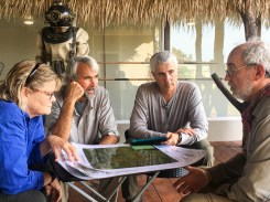 Utilizing maps from WWII and digital tech to map the landscape while searching for executed WWII MIA and innocents in Palau