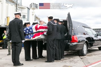 Ora H. Sharninghouse laid to Rest. Photo by Harry Parker Photography.