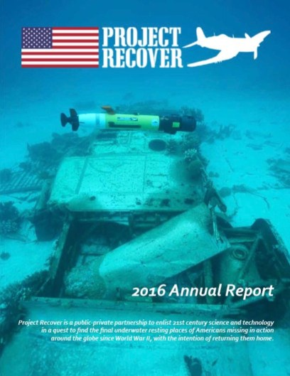 Project Recover's 2016 Annual Report