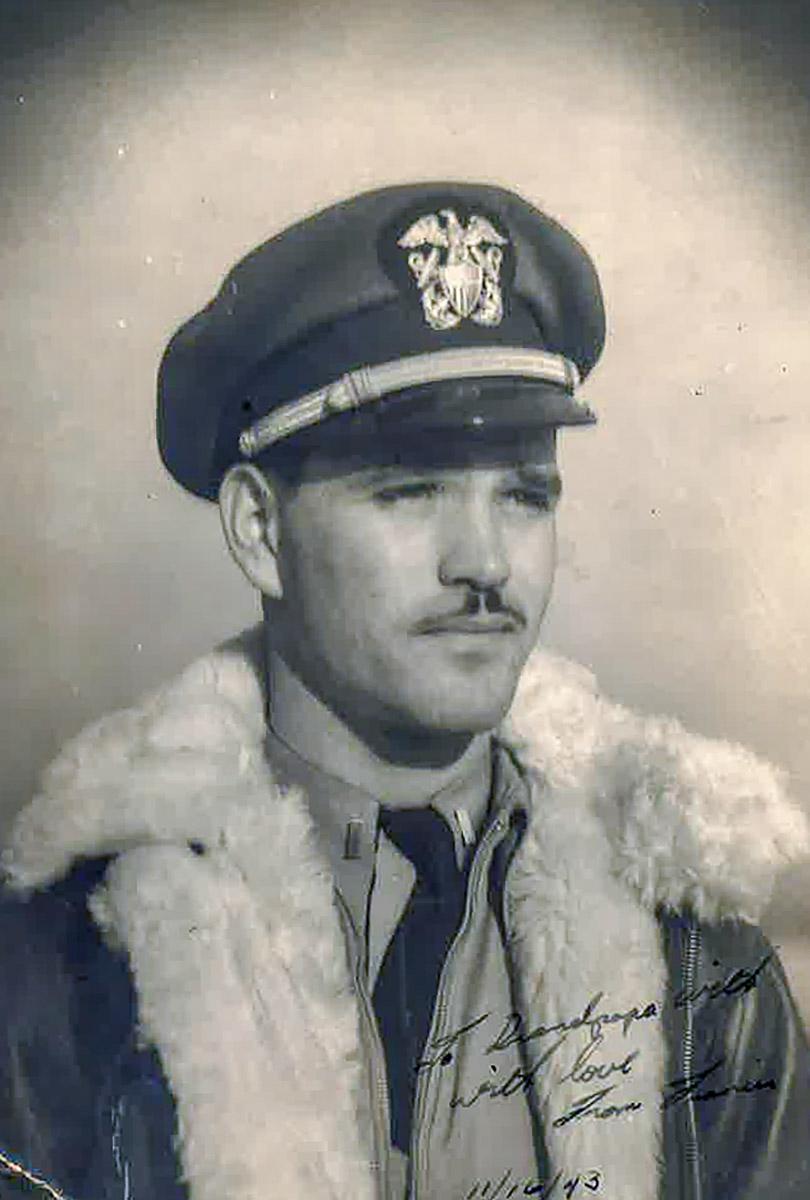 LT (jg) Francis Waters WWII Pilot