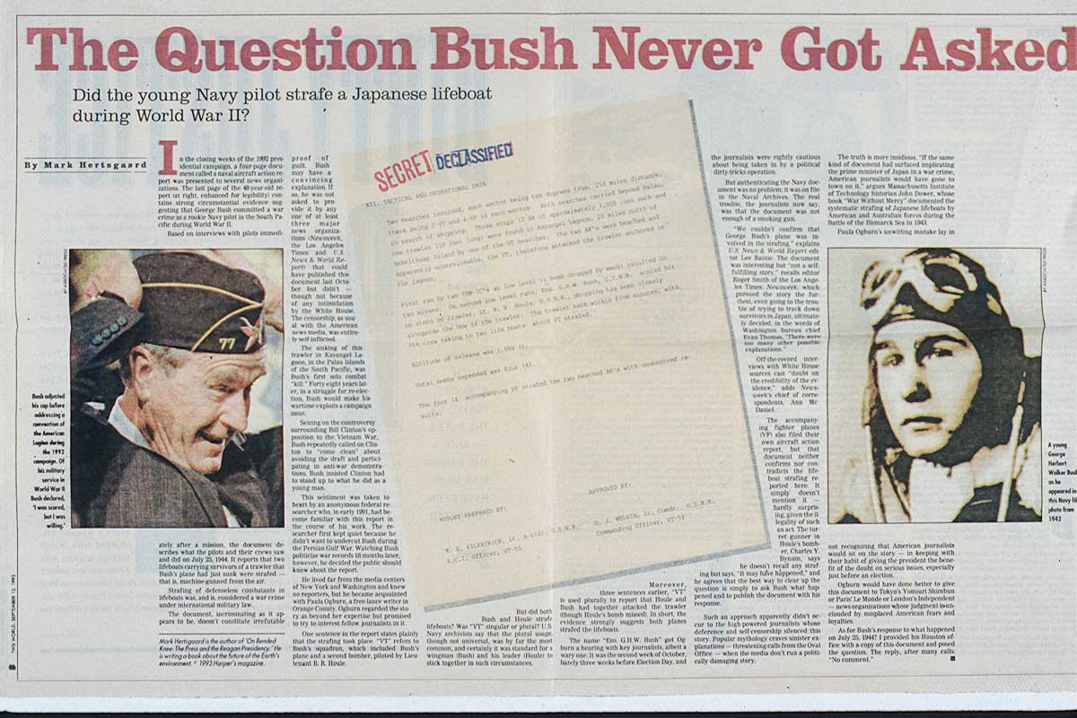 Magazine article President GHW Bush