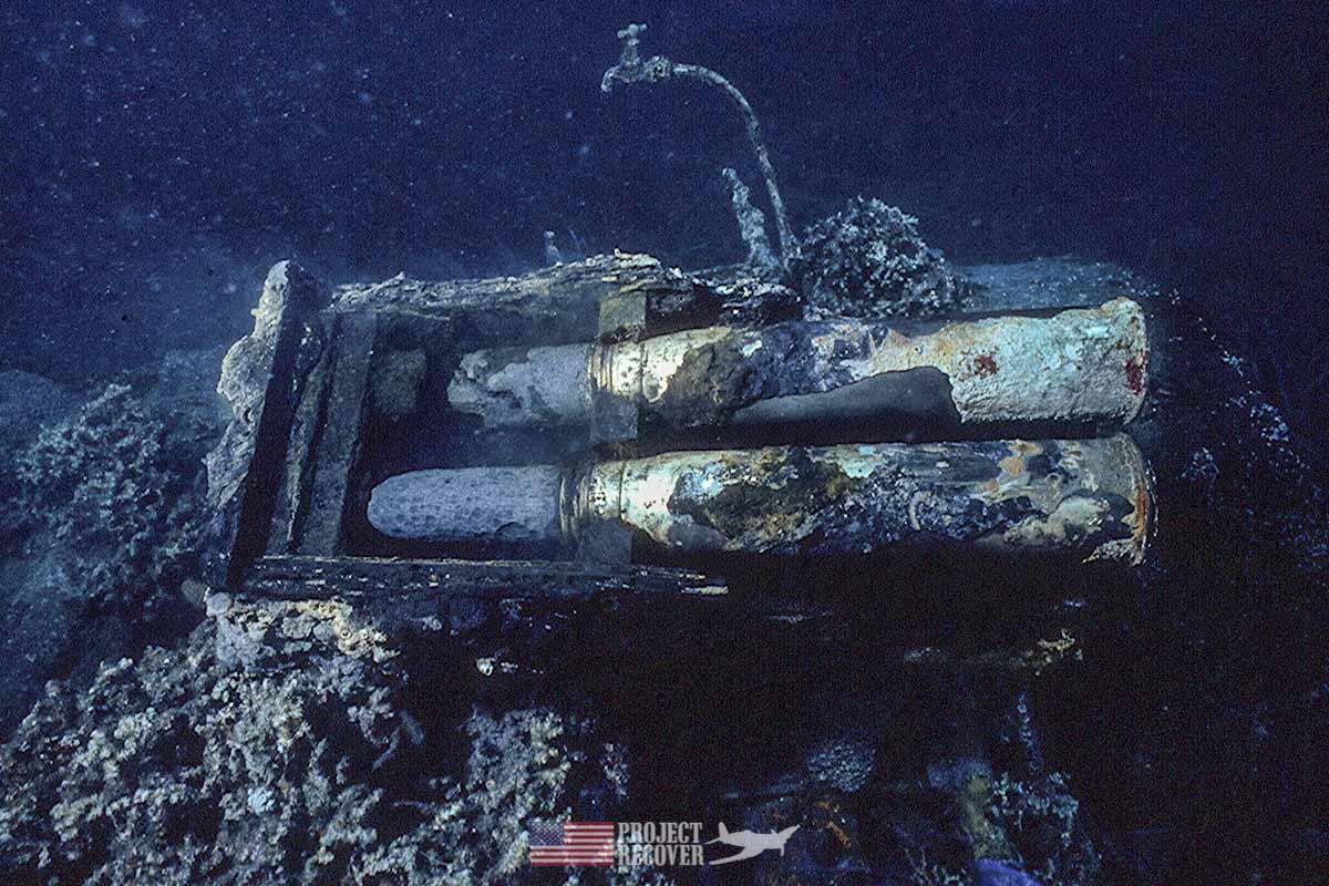 President GHW Bush trawler ammo box