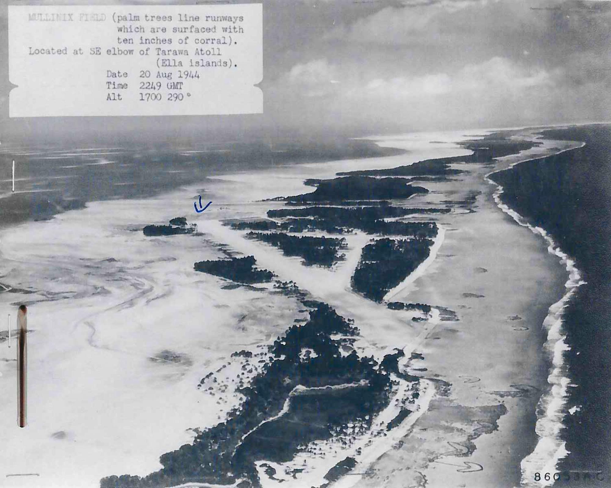Tarawa Runway- WWII