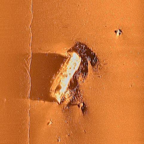 USS Abner Read side-scan sonar image