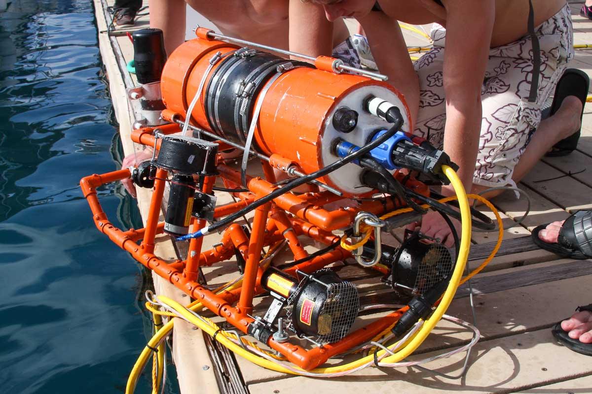 Underwater Robot built by StockBridge High school