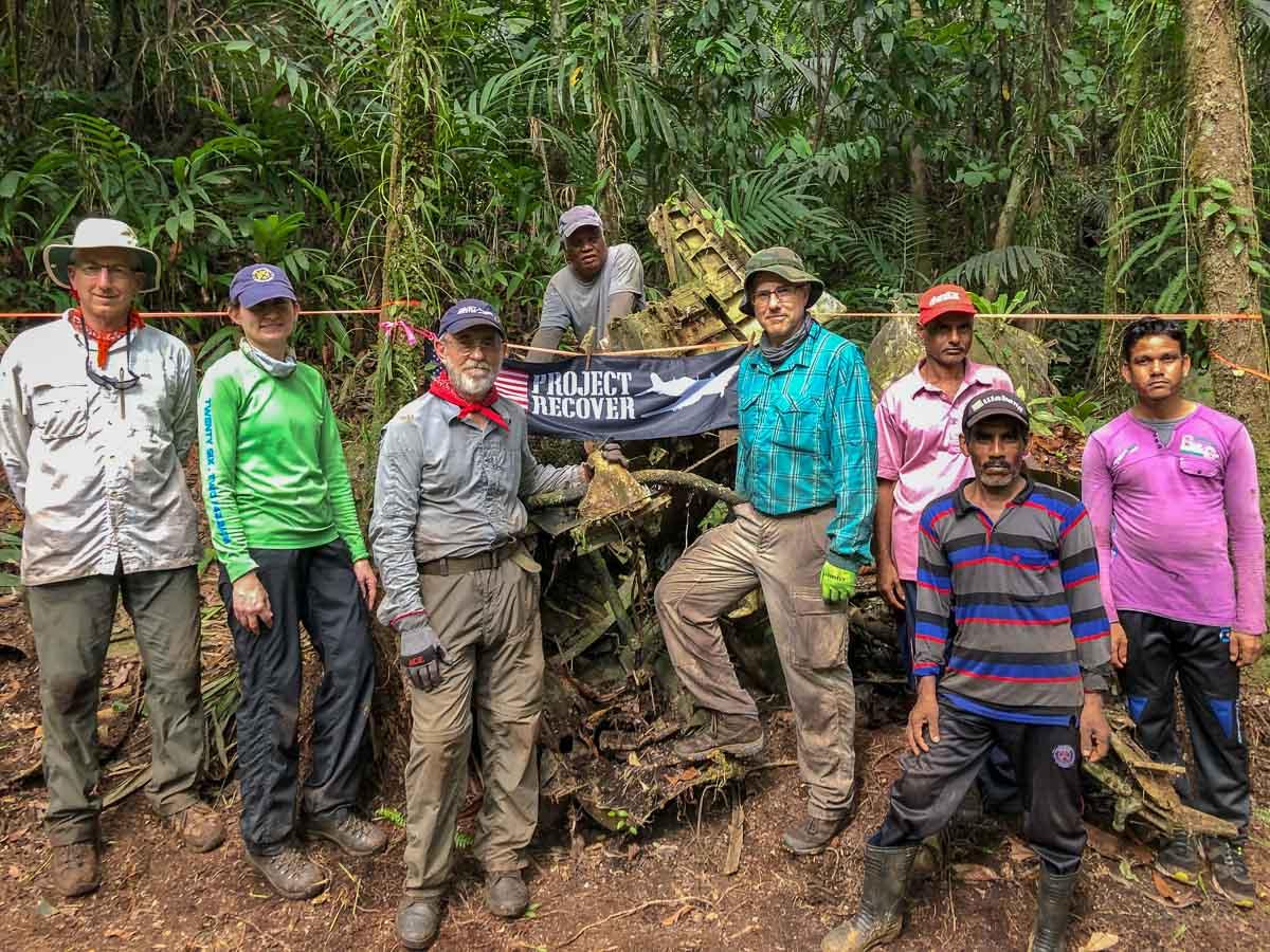 Jungle MIA Crash Site