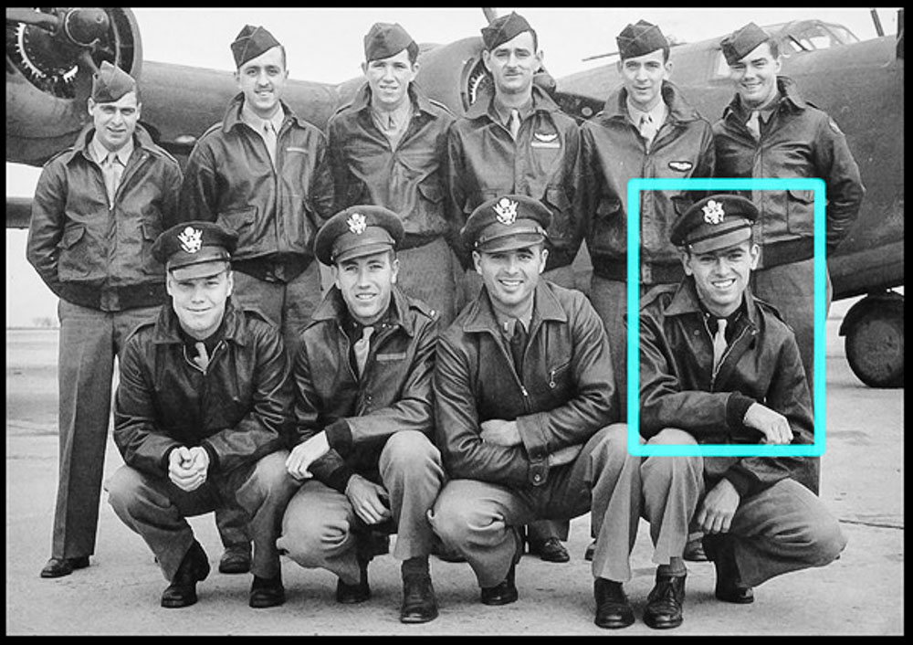 2nd Lt. Thomas V. Kelly, Jr. - Heaven Can Wait crew