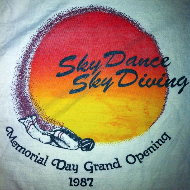 SkyDance Grand Opening T-Shirt, 1987