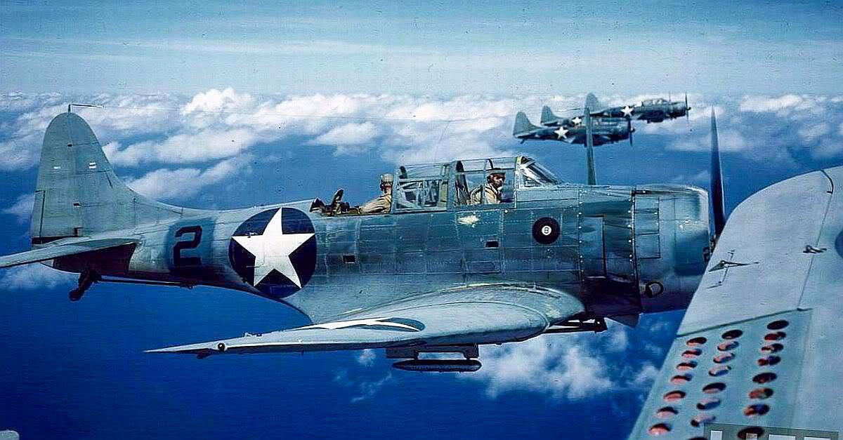 Robert O. Rotsel - SBD Dauntless Dive Bomber, 1942-43