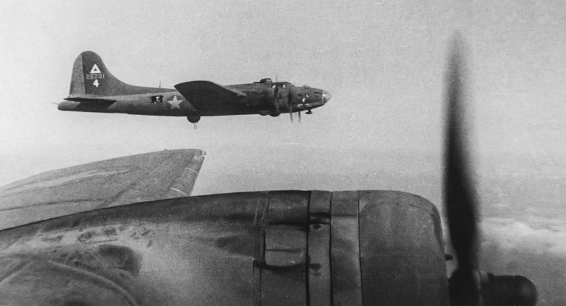 B-17s with 97th Bomb Group