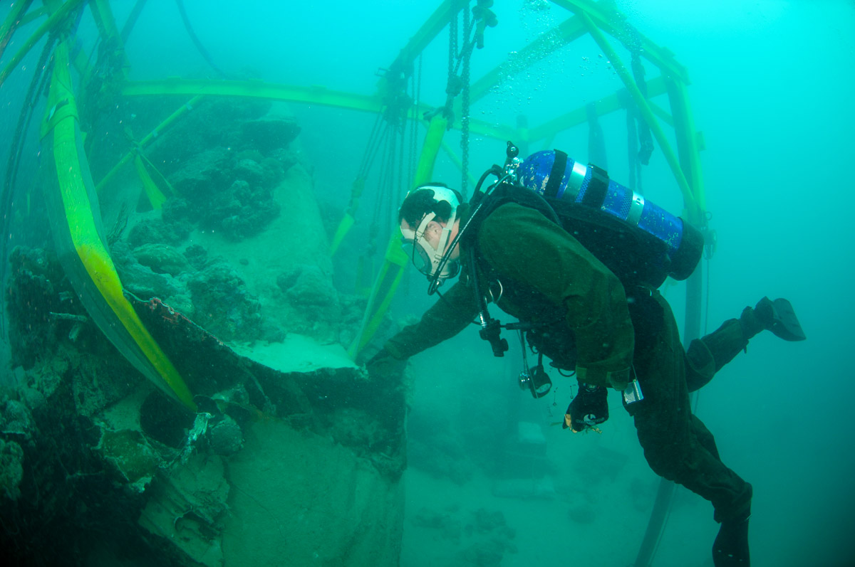Navy Recovery Diver