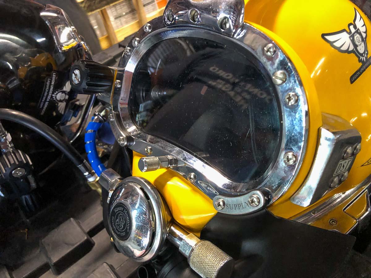 KM37 Commercial Diving Helmet