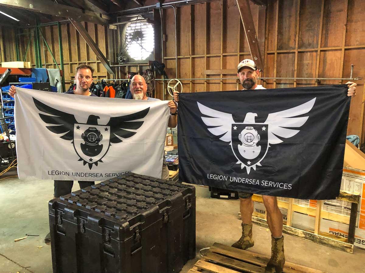 Legion Undersea Flags