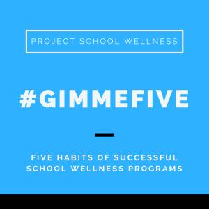 Project School Wellness, Health, Middle School, Teacher Blog, Gimme 5