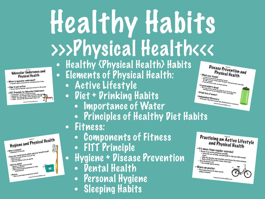 Physical Health Learning Stations