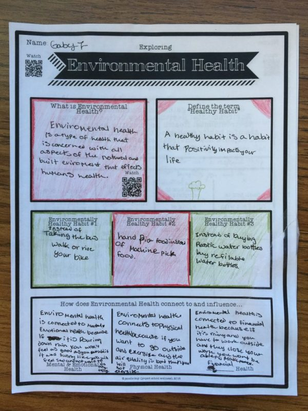What is Environmental Health?, Components of Health, Dimensions of Health, Project School Wellness,