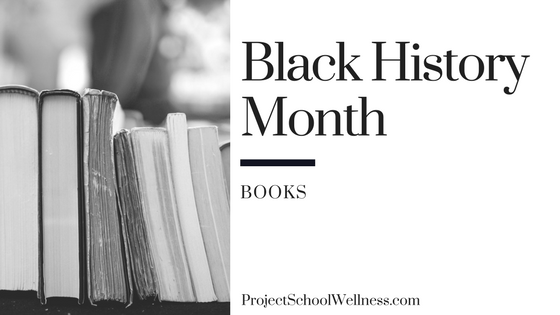 Black History Month - Books for Teachers. Project School Wellness takes a look at how teachers can facilitate relevant and transformational converstaion centered on Black History in the United States of America. This post shares 20 resources for middle schools teachers to teach students about Black History and to help students take an active role in society!