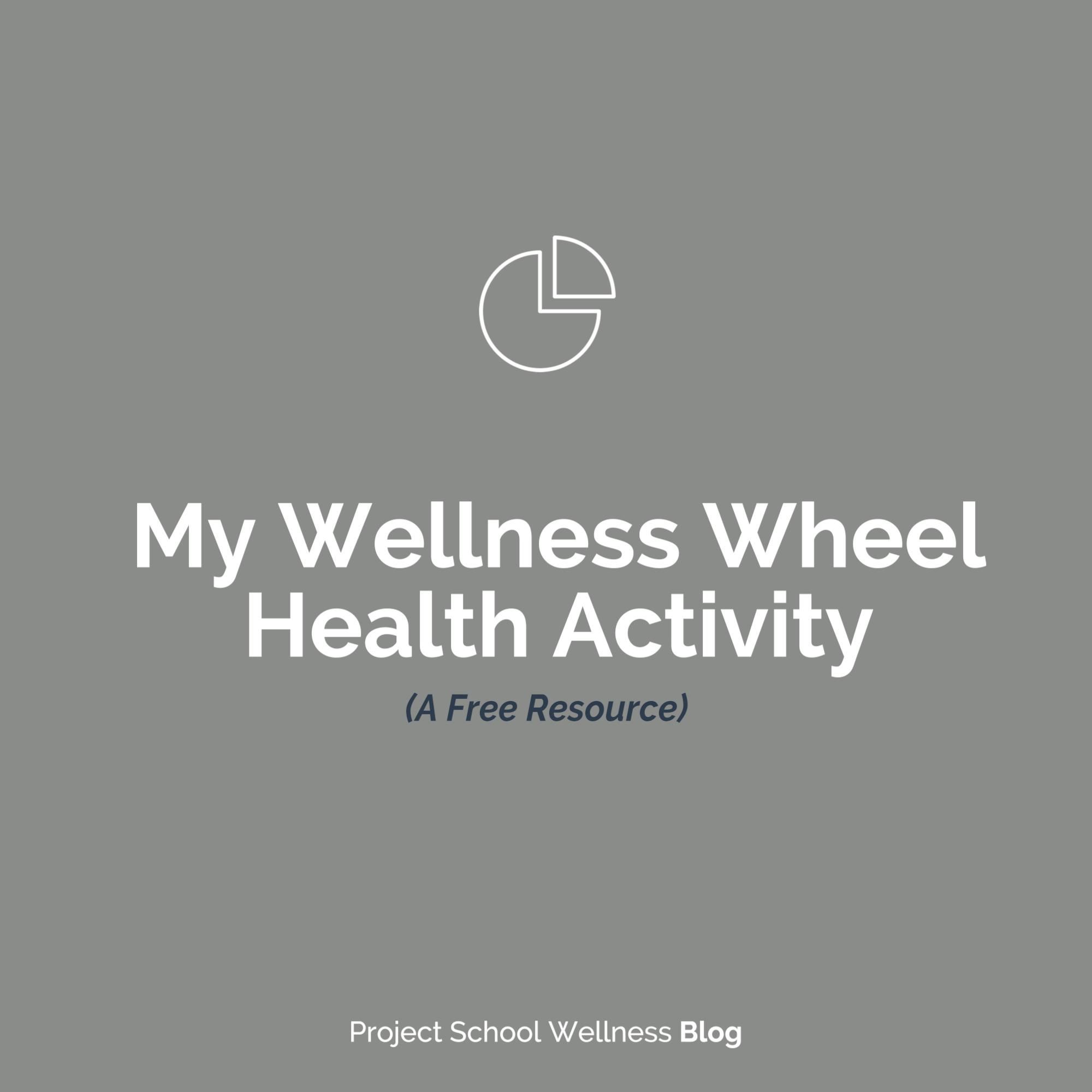 Wellness Basics The Wellness Wheel