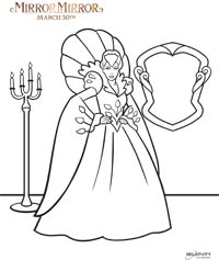 Mirror Mirror review and coloring pages - Projects for ...