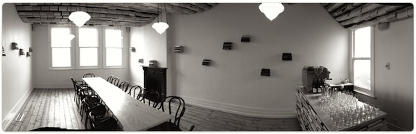 Reading room café photo. Guerrilla agile training space.