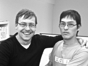 Dave Fletcher and I