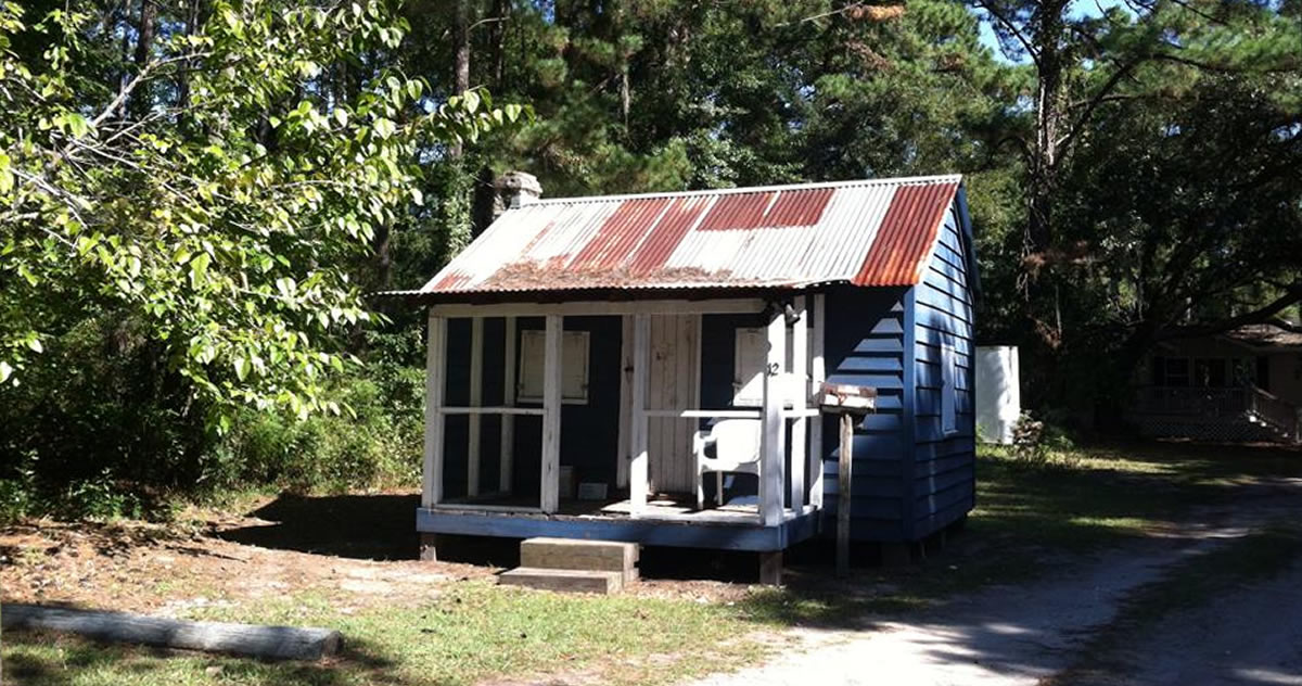 Small House History: Gullah Little House – William Simmons House, Hilton Head Island