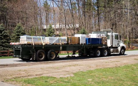 Classic Manor materials are delivered, then assembled on your site. It is not modular.