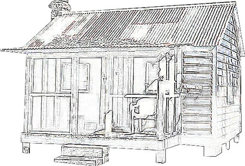 Project Small House History: Gullah Little House - William Simmons House, Hilton Head Island