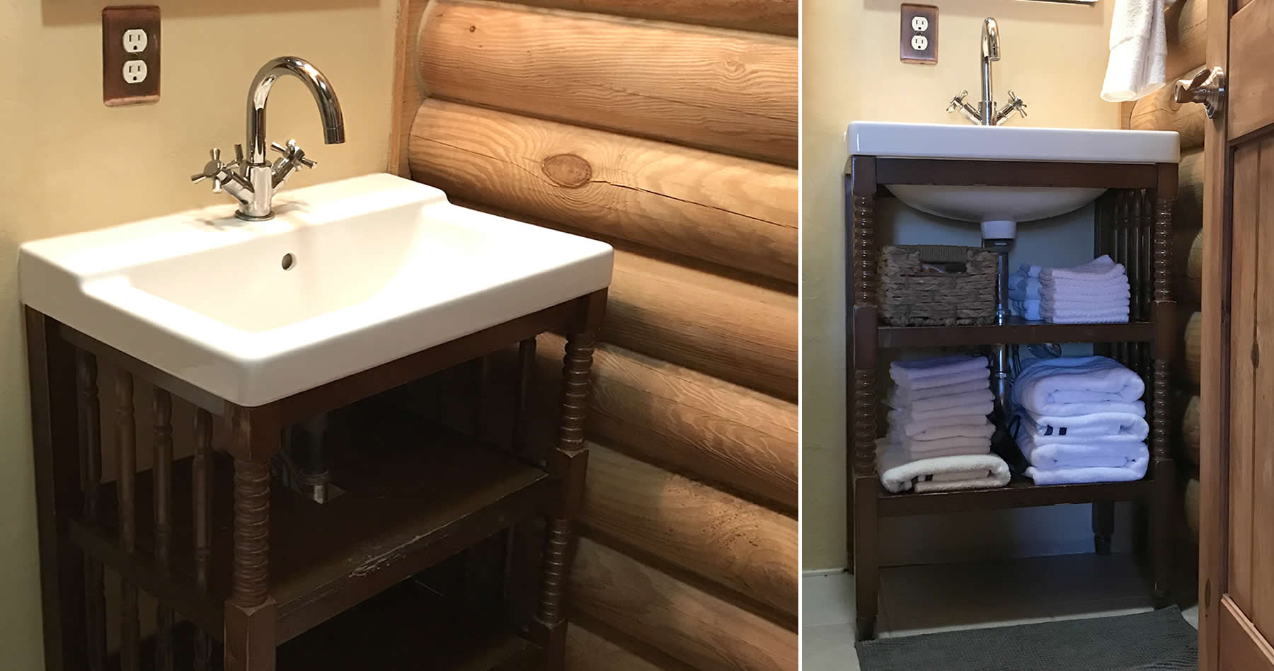 project converting a jenny lind baby changing table into a bath rh projectsmallhouse com baby changing table in bathroom cloth diaper changing table in bathroom