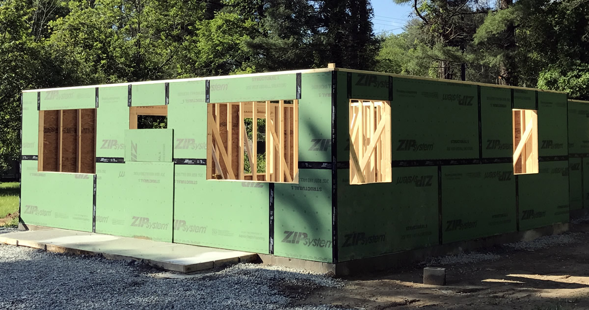 Huber Zip System 174 Project Small House