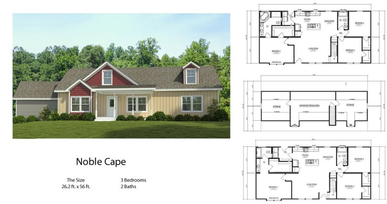 Noble Cape Modular Home by Palm Harbor Homes