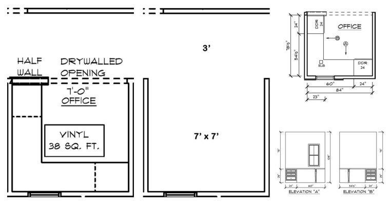 Schumacher Cross Creek Office Modifications